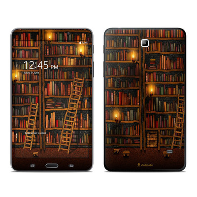Samsung Galaxy Tab 4 7in Skin - Library