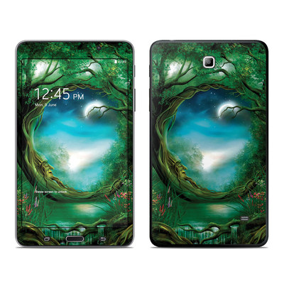 Samsung Galaxy Tab 4 7in Skin - Moon Tree