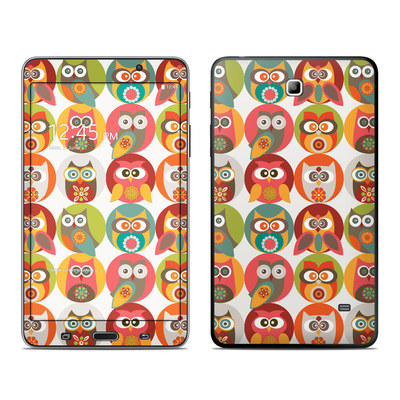 Samsung Galaxy Tab 4 7in Skin - Owls Family