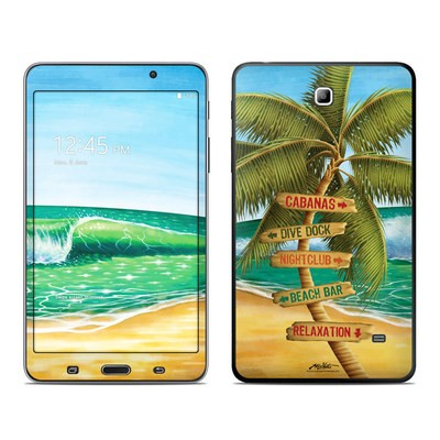 Samsung Galaxy Tab 4 7in Skin - Palm Signs
