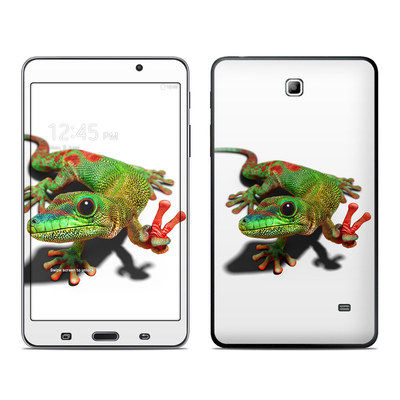 Samsung Galaxy Tab 4 7in Skin - Peace Gecko