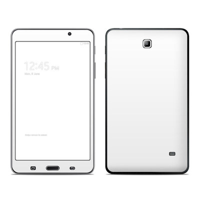 Samsung Galaxy Tab 4 7in Skin - Solid State White