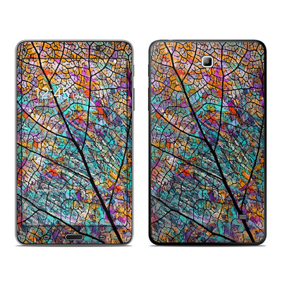 Samsung Galaxy Tab 4 7in Skin - Stained Aspen