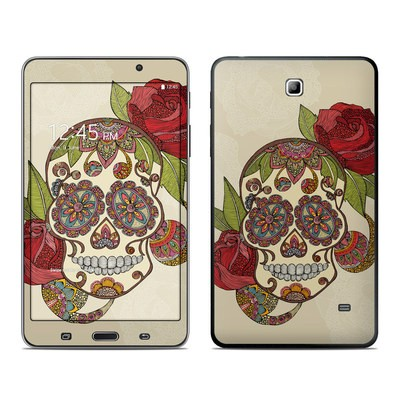 Samsung Galaxy Tab 4 7in Skin - Sugar Skull