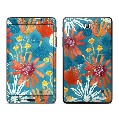 Samsung Galaxy Tab 4 7in Skin - Sunbaked Blooms