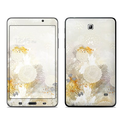 Samsung Galaxy Tab 4 7in Skin - White Velvet