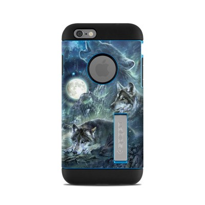 Spigen iPhone 6 Tough Armor Case Skin - Bark At The Moon