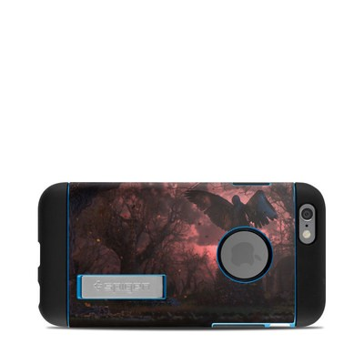 Spigen iPhone 6 Tough Armor Case Skin - Black Angel