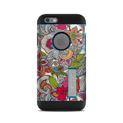Spigen iPhone 6 Tough Armor Case Skin - Doodles Color
