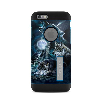 Spigen iPhone 6 Tough Armor Case Skin - Howling