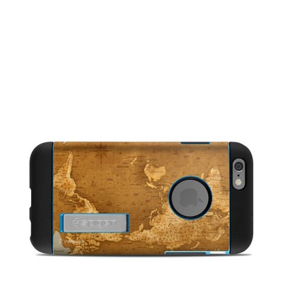 Spigen iPhone 6 Tough Armor Case Skin - Upside Down Map