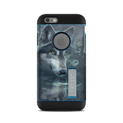 Spigen iPhone 6 Tough Armor Case Skin - Wolf Reflection