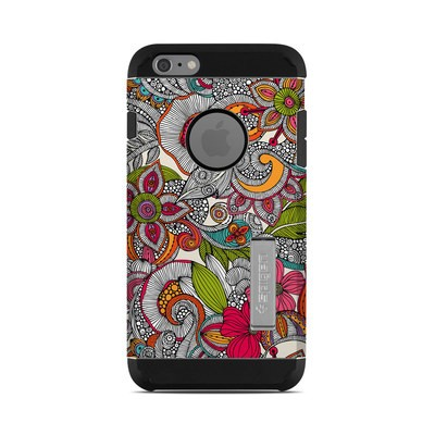 Spigen iPhone 6 Plus Tough Armor Case Skin - Doodles Color