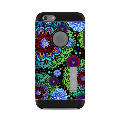 Spigen iPhone 6 Plus Tough Armor Case Skin - Funky Floratopia