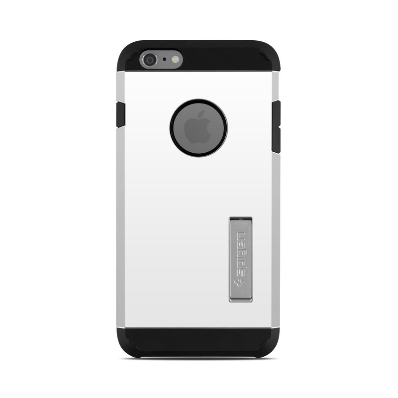 wholesale dealer cb675 02f0b Spigen iPhone 6 Plus Tough Armor Case Skin - Solid State White