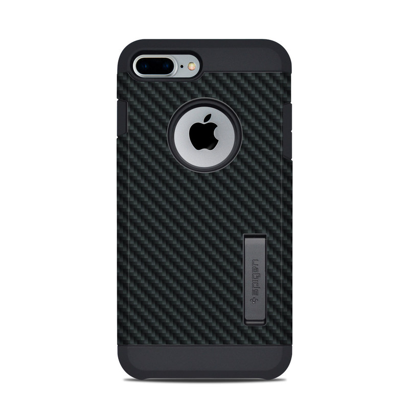 hot sale online 4fa5d f2497 Spigen iPhone 7 Plus-8 Plus Tough Armor Case Skin - Carbon by DecalGirl  Collective