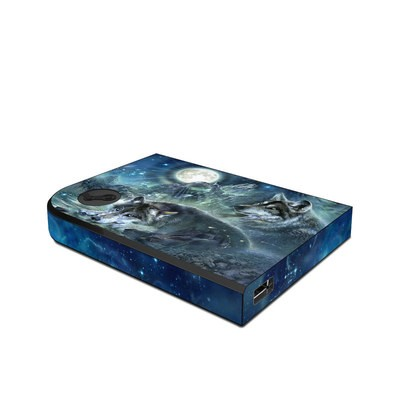 Valve Steam Link Skin - Bark At The Moon