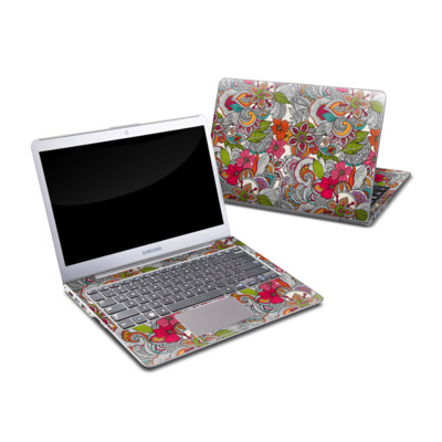 Samsung Series 5 13.3 Ultrabook Skin - Doodles Color