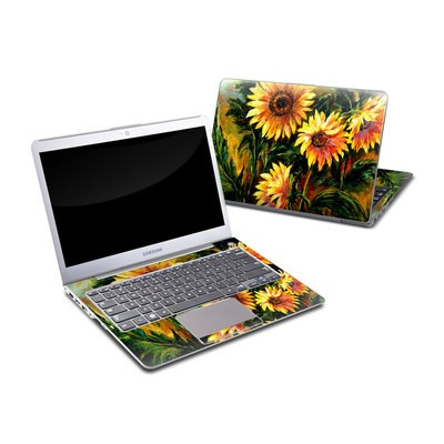 Samsung Series 5 13.3 Ultrabook Skin - Sunflower Sunshine
