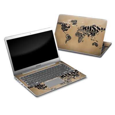 Samsung Series 5 14 Ultrabook Skin - Type Map