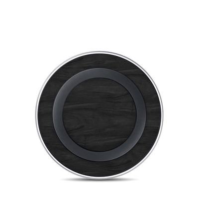 Samsung Wireless Charging Pad Skin - Black Woodgrain