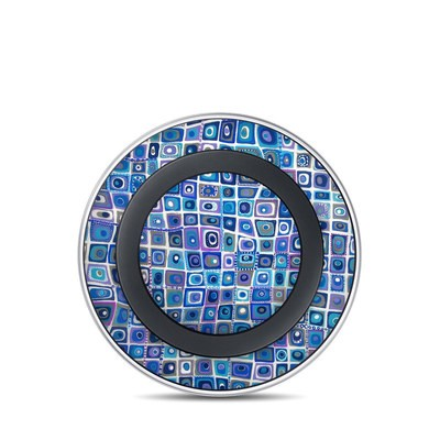 Samsung Wireless Charging Pad Skin - Blue Monday