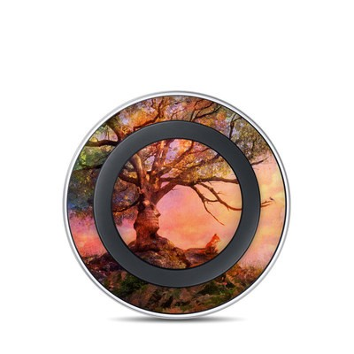 Samsung Wireless Charging Pad Skin - Fox Sunset