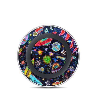Samsung Wireless Charging Pad Skin - Out to Space