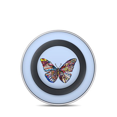Samsung Wireless Charging Pad Skin - Pieced Butterfly