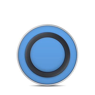 Samsung Wireless Charging Pad Skin - Solid State Blue