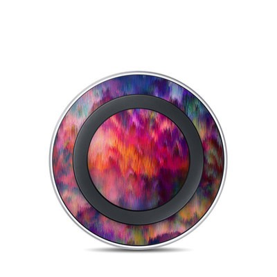 Samsung Wireless Charging Pad Skin - Sunset Storm