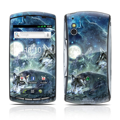 Sony Ericsson Xperia Play Skin - Bark At The Moon