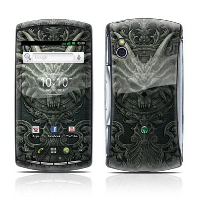 Sony Ericsson Xperia Play Skin - Black Book