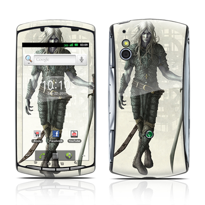 Sony Ericsson Xperia Play Skin - Dark Elf