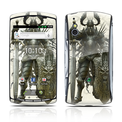 Sony Ericsson Xperia Play Skin - Dark Knight
