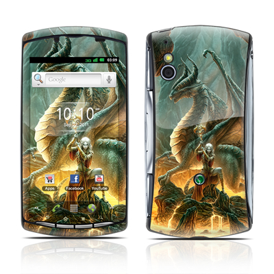 Sony Ericsson Xperia Play Skin - Dragon Mage