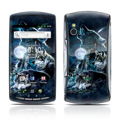 Sony Ericsson Xperia Play Skin - Howling