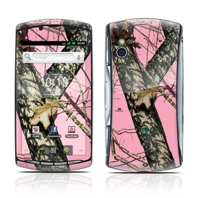 Sony Ericsson Xperia Play Skin - Break-Up Pink