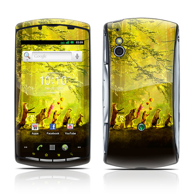 Sony Ericsson Xperia Play Skin - Secret Parade