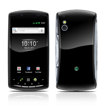 Sony Ericsson Xperia Play Skin - Solid State Black