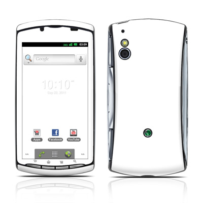 Sony Ericsson Xperia Play Skin - Solid State White