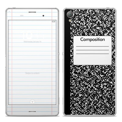 Sony Xperia Z3 Skin - Composition Notebook