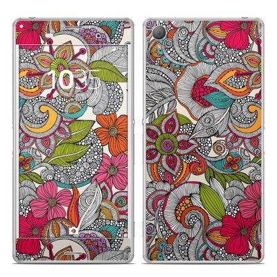Sony Xperia Z3 Skin - Doodles Color