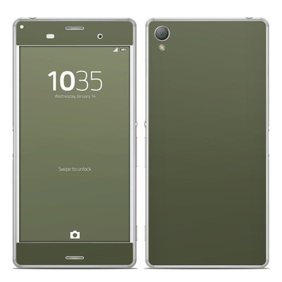 Sony Xperia Z3 Skin - Solid State Olive Drab