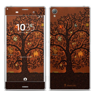 Sony Xperia Z3 Skin - Tree Of Books