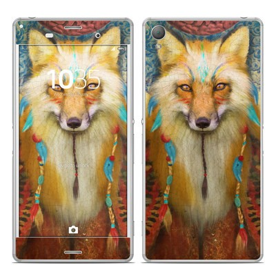 Sony Xperia Z3 Skin - Wise Fox