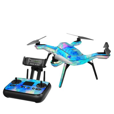 3DR Solo Skin - Electrify Ice Blue