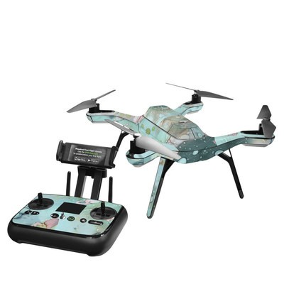 3DR Solo Skin - Organic In Blue