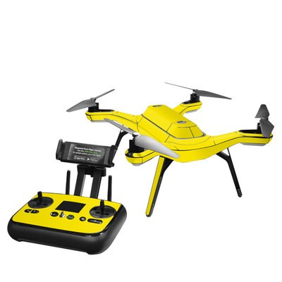 3DR Solo Skin - Solid State Yellow