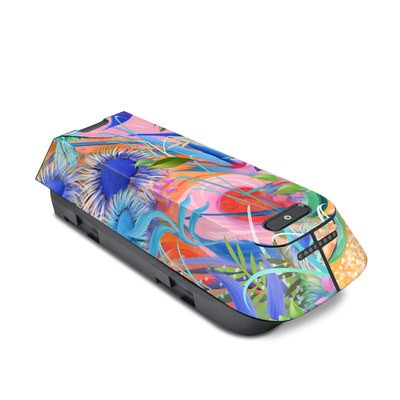 3DR Solo Battery Skin - Fantasy Garden
